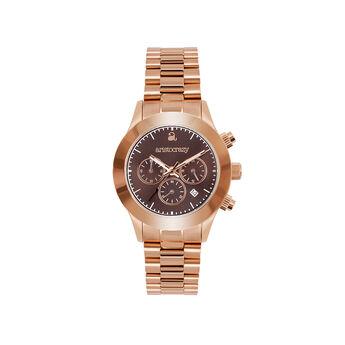 Reloj Soho armis oro rosa esfera marrón , W0029Q-STBR-STPK, hi-res