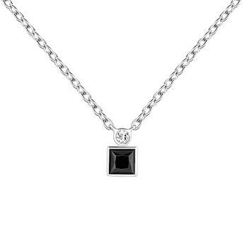 Necklace spinel topaz silver, J04061-01-BSN-WT, hi-res