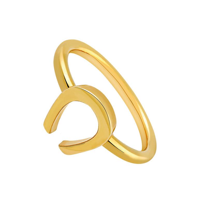 Anillo herradura oro, J03140-02, hi-res