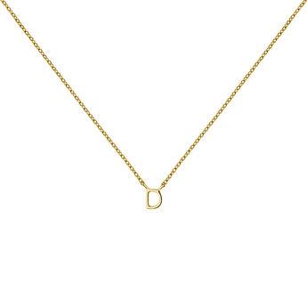 Collar inicial D oro9 kt, J04382-02-D, hi-res