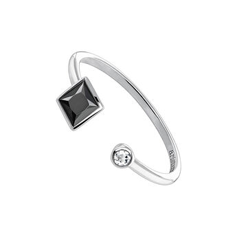 You and me ring spinel silver, J04086-01-BSN-WT, hi-res