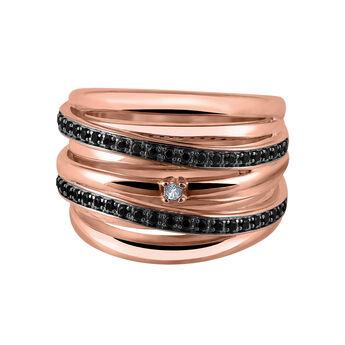 Anillo maxi plata recubierta oro rosa, J03352-03-BSN-WT, hi-res