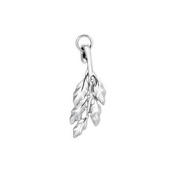 Colgante laurel plata, J03440-01, hi-res