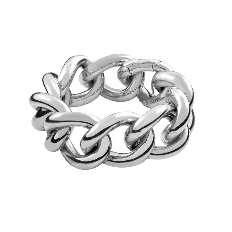 Medium Maxi silver link bracelet, J00899-01, hi-res