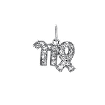 Virgo silver pendant, J03604-01-WT, hi-res