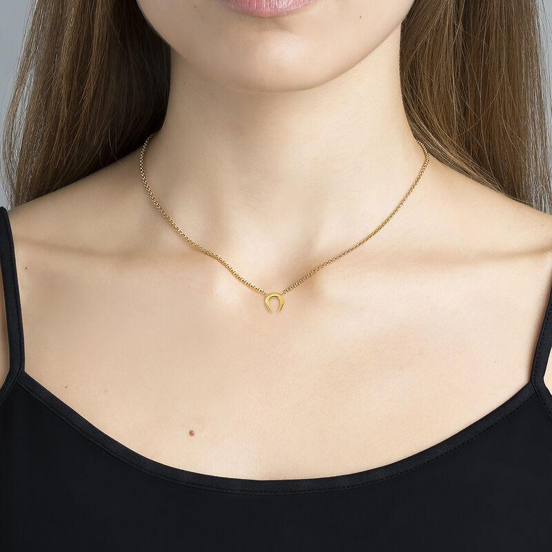 Colgante herradura oro, J03143-02, hi-res