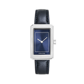 Reloj Chelsea correa azul, W46A-STSTBU-LEBU, hi-res
