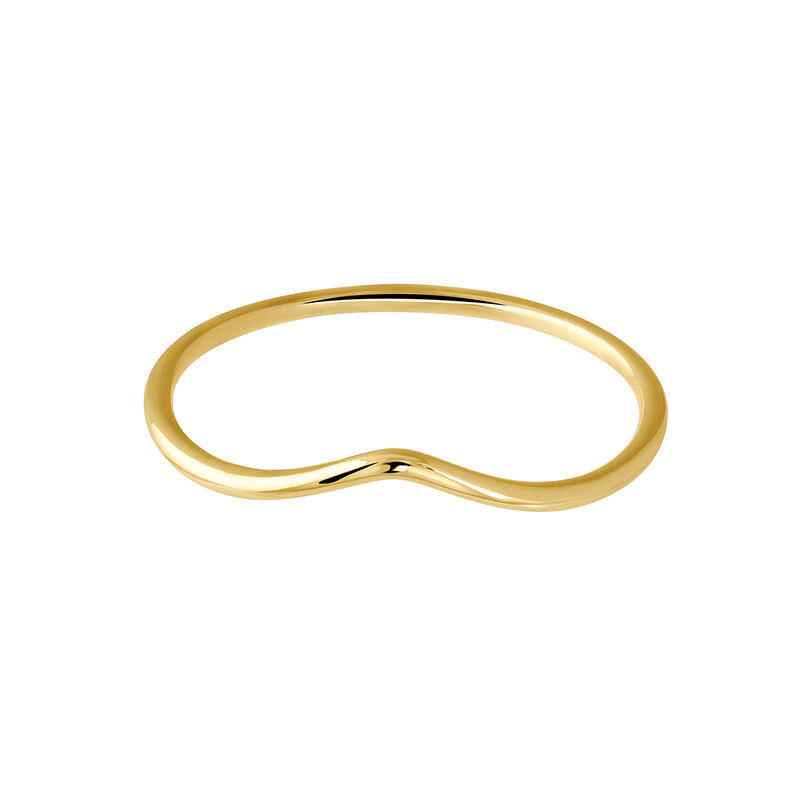 Gold triangle ring, J03855-02, hi-res