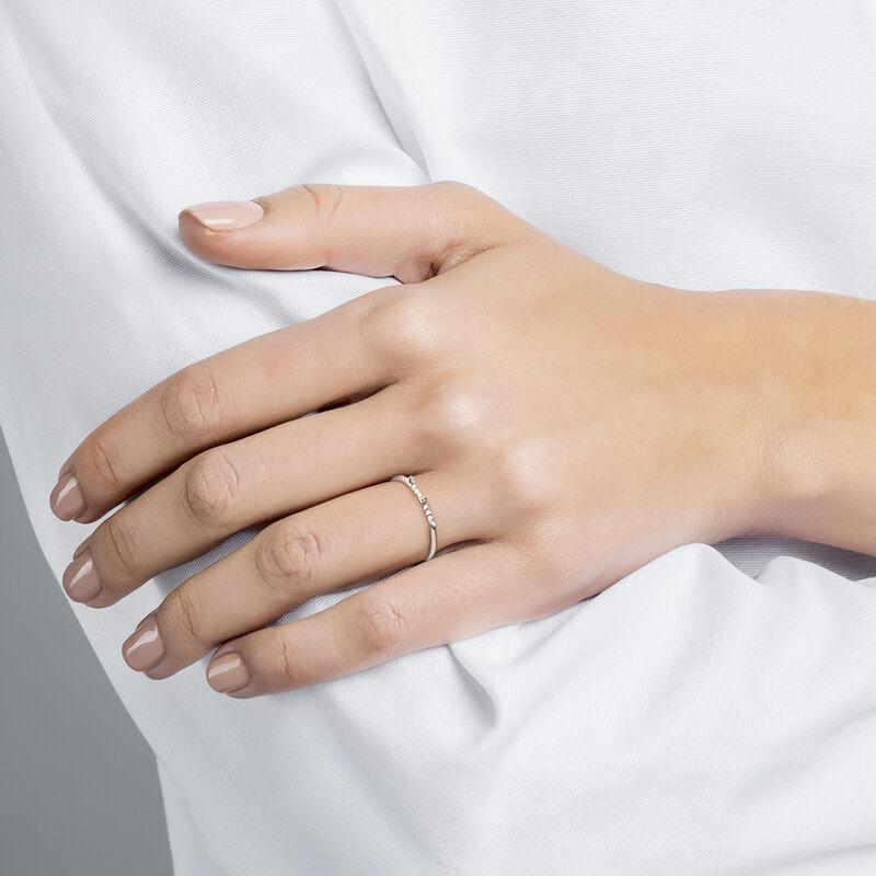 Anillo pinchos y diamantes oro blanco 0,03 ct, J03879-01, hi-res
