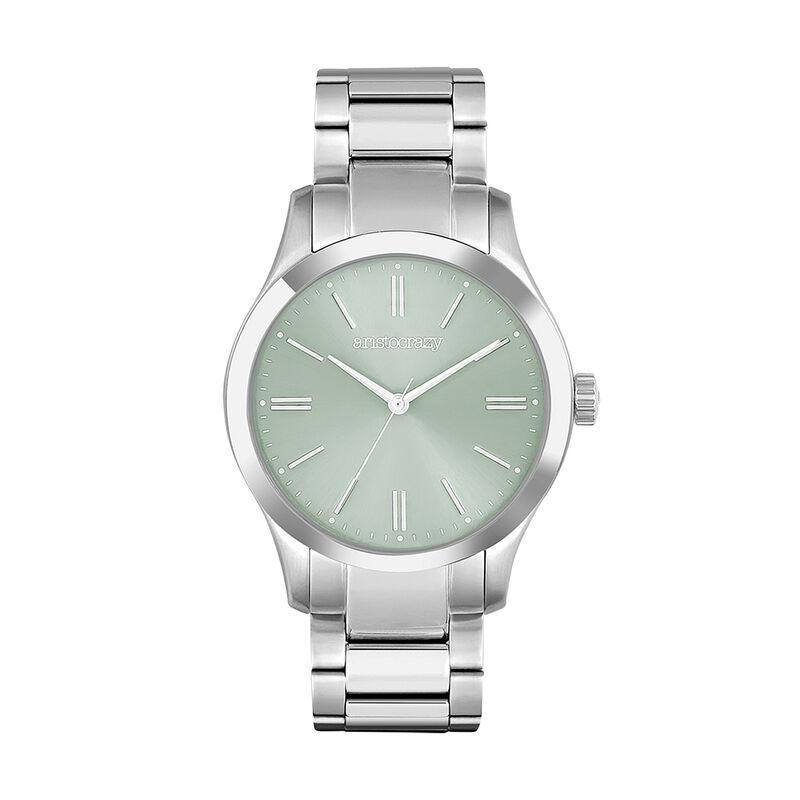 Green dial Mitte watch, W41A-STSTTU-AXST, hi-res
