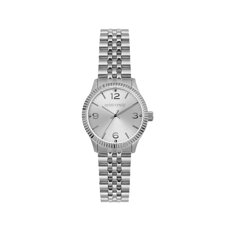 St. Barth watch bracelet grey face, W30A-STSTGR-AXST, hi-res