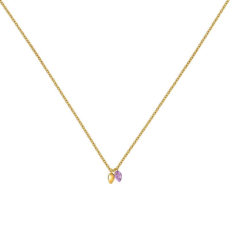 Collar bohemio amatista oro, J03545-02-AM, hi-res