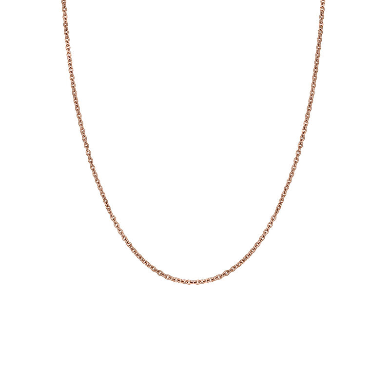 Rose gold long chain, J03737-03, hi-res