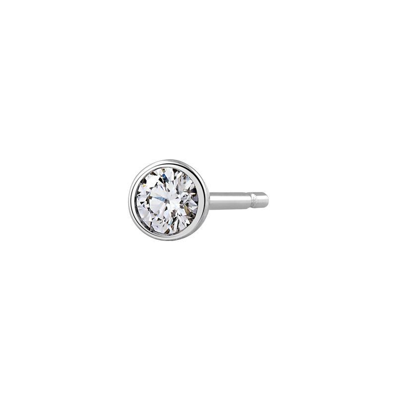 Pendiente círculo oro diamante 0,1 ct, J03021-01-10-H, hi-res