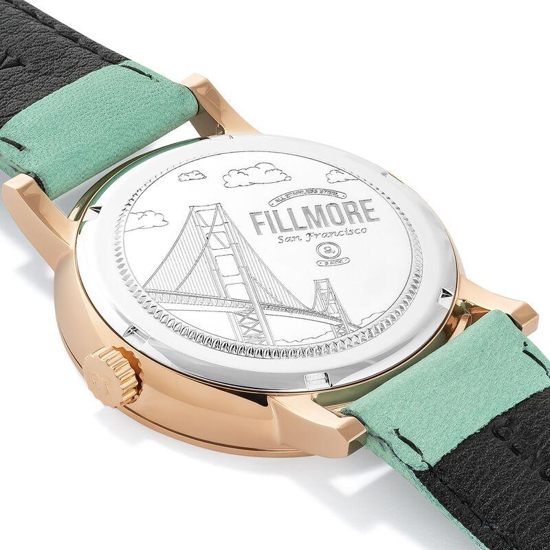 Reloj Fillmore correa turquesa, W55A-PKPKWP-LELB, hi-res