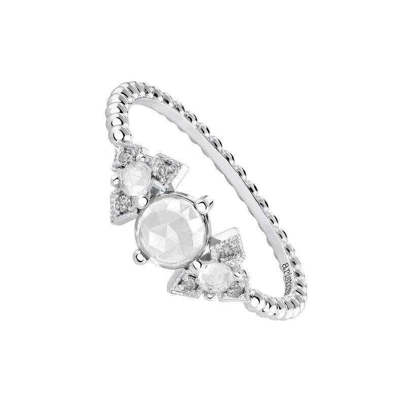 Silver Vintage Large Ring, J03798-01-WT-GD, hi-res