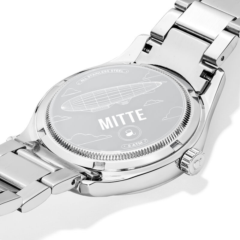 Mitte watch bracelet blue face, W41A-STSTBU-AXST, hi-res