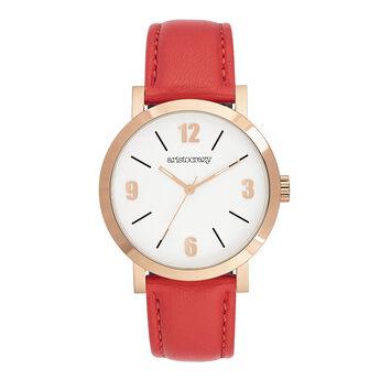 11f164683514 Reloj La Condesa coral