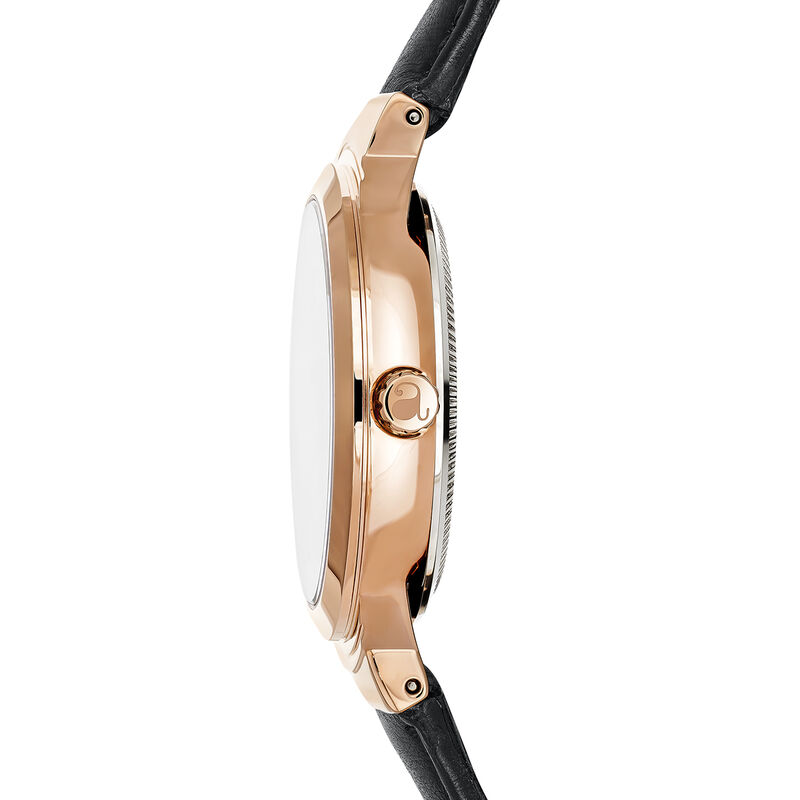 Reloj Vesterbro correa negra, W48A-PKPKBL-LEBL, hi-res