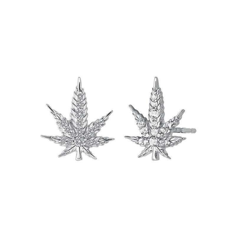 Pendientes cáñamo plata, J03449-01-WT, hi-res