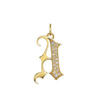 5d90f18c3d5c Colgantes con iniciales de oro o plata