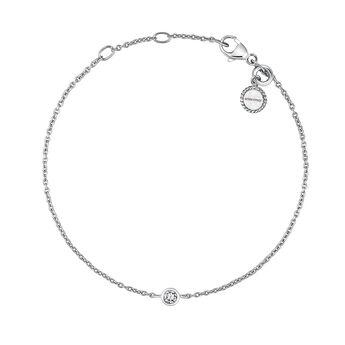 Pulsera chatón plata, J03437-01, hi-res
