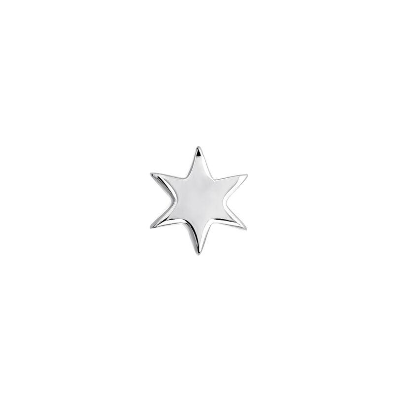 Piercing estrella oro blanco 9 kt, J03834-01-H, hi-res