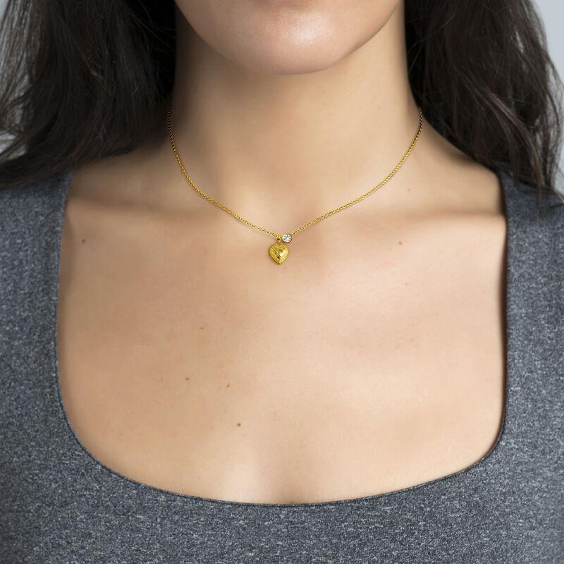 Colgante corazón piedras oro, J03526-02-MULTI, hi-res