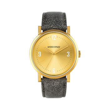 Brooklyn watch strap yellow face, W45A-YWYWYW-LEGR, hi-res