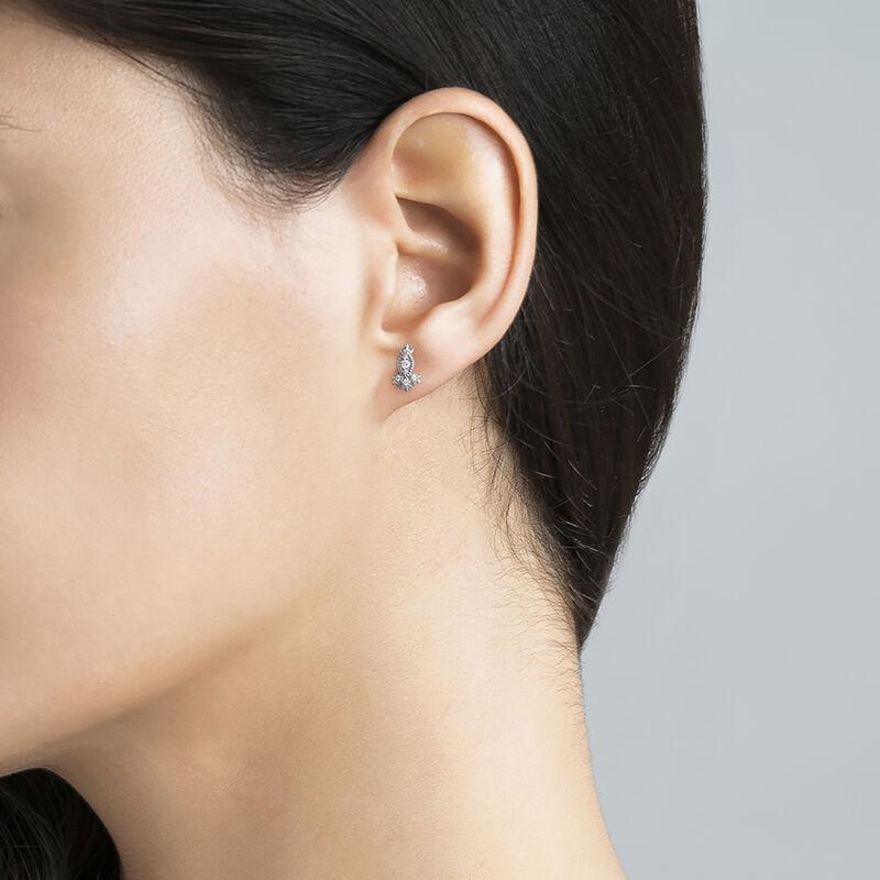 Marquise diamond earring piercing, J03383-01-H, hi-res