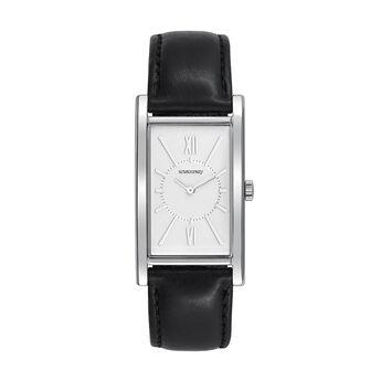 Reloj Le Marais correa negra, W47A-STSTWH-LEBL, hi-res