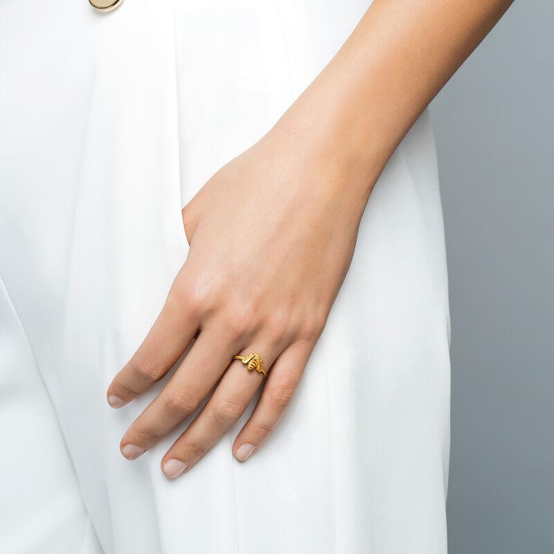 Anillo abeja oro, J03450-02, hi-res