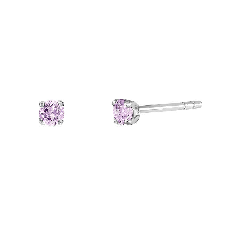 Pendientes garra amatista plata, J03457-01-AM, hi-res