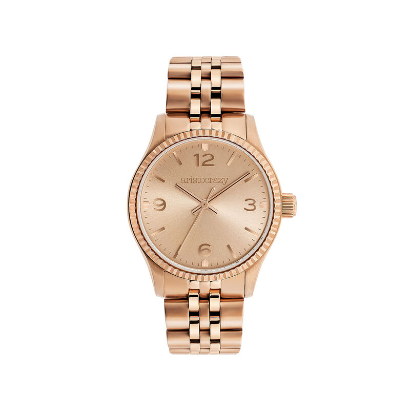 St. Barth watch mini watch rose gold steel, W30A-PKPKPK-AXPK, hi-res