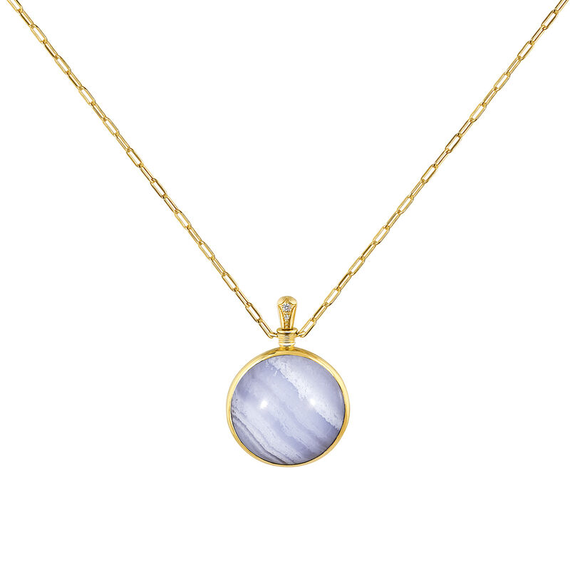Large necklace blue agate, J04128-02-BLAG-WT, hi-res
