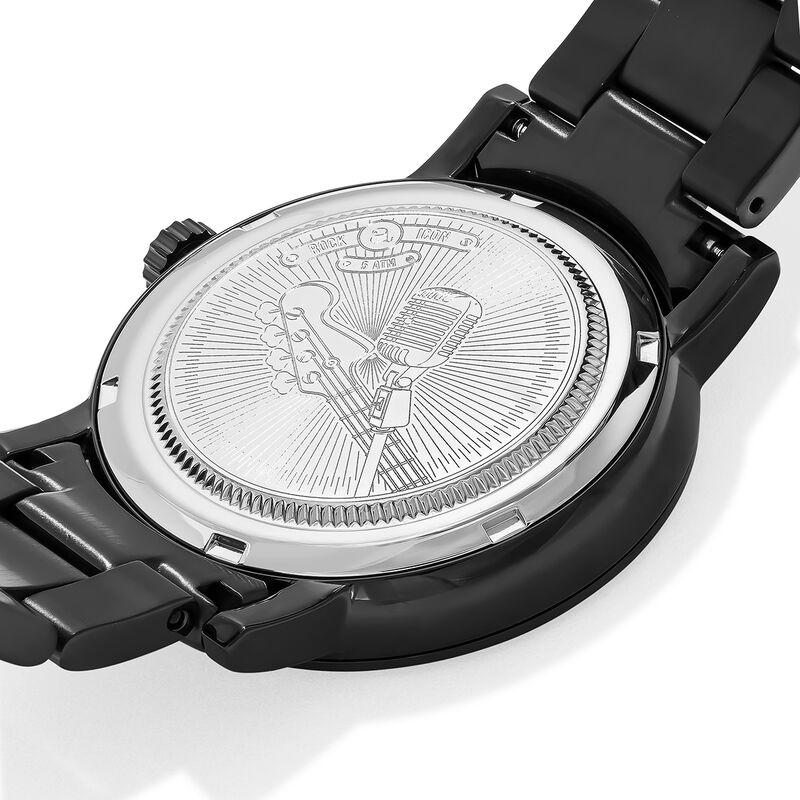 Montre Rock Icon bracelet acier tête de mort, W45A-BMBMSK-AXBM, hi-res