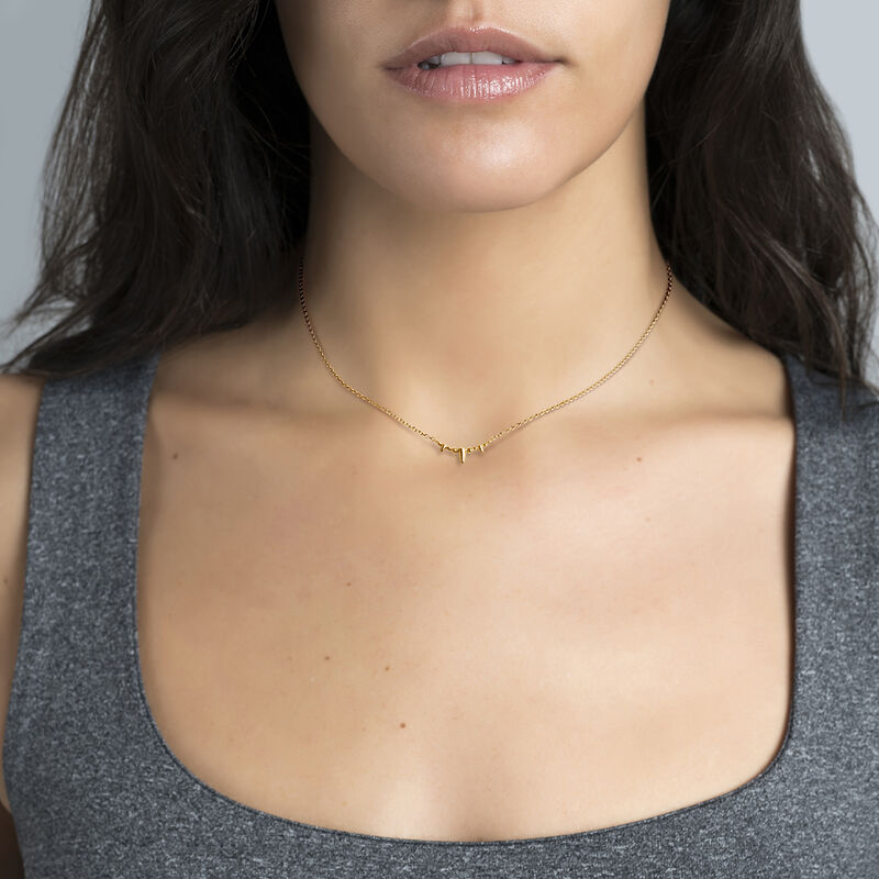 Collier pointes or, J03866-02, hi-res