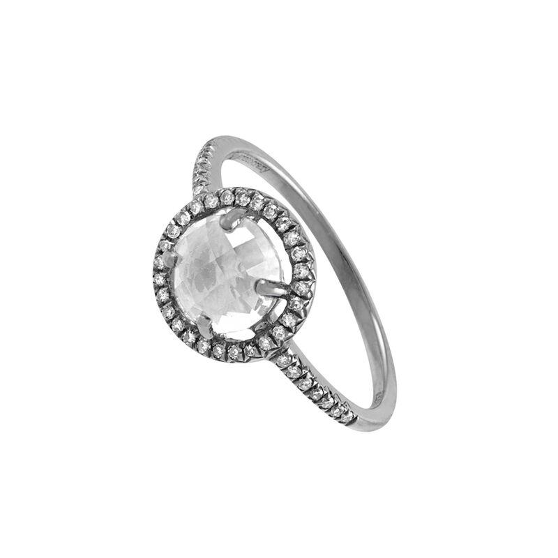 Anillo topacio orla diamantes plata, J00816-01-WT, hi-res