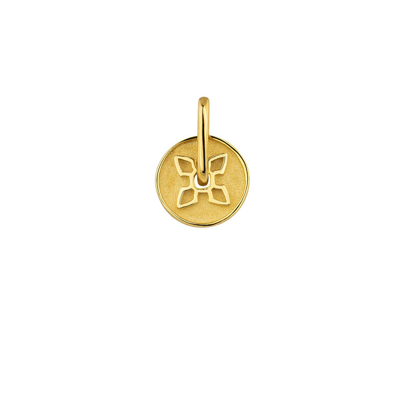 Gold cross pendant, J04282-02, hi-res