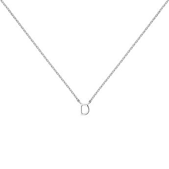 Collar inicial D oro blanco9 kt, J04382-01-D, hi-res