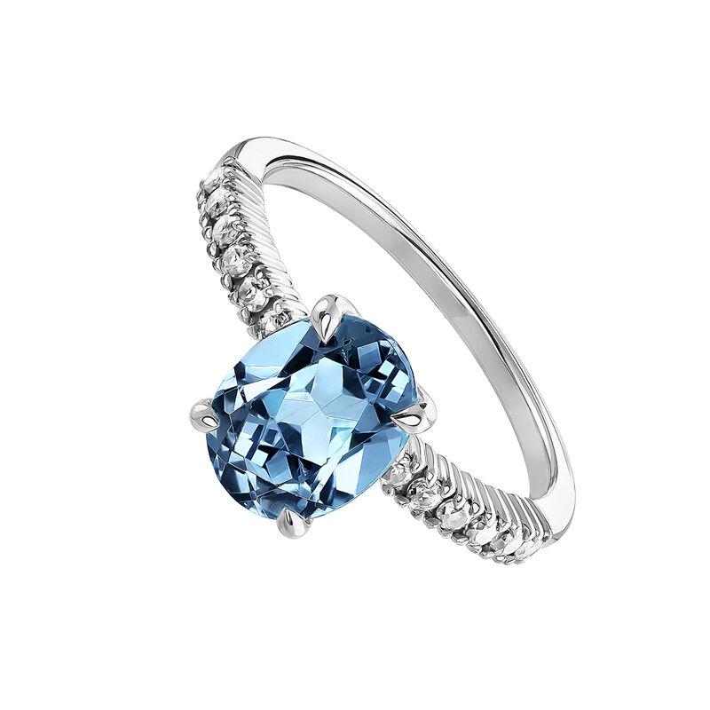 Silver topaz border ring, J03749-01-LB-WT, hi-res