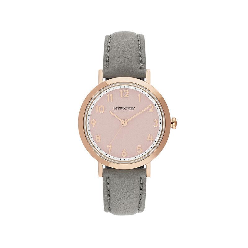 Reloj Venice correa esfera rosa