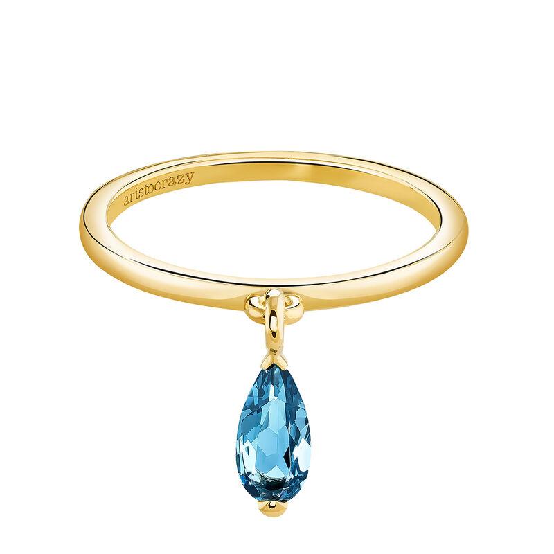 Anillo topacio azul oro, J03957-02-LB, hi-res