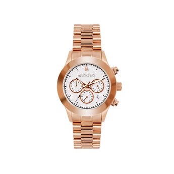 Soho watch rose gold bracelet white face, W29A-PKPKWH-AXPK, hi-res