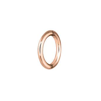 Pendiente piercing aro pequeño oro rosa 9 kt, J03842-03-H, hi-res