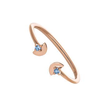 You and me rose gold topaz ring, J03744-03-LB, hi-res