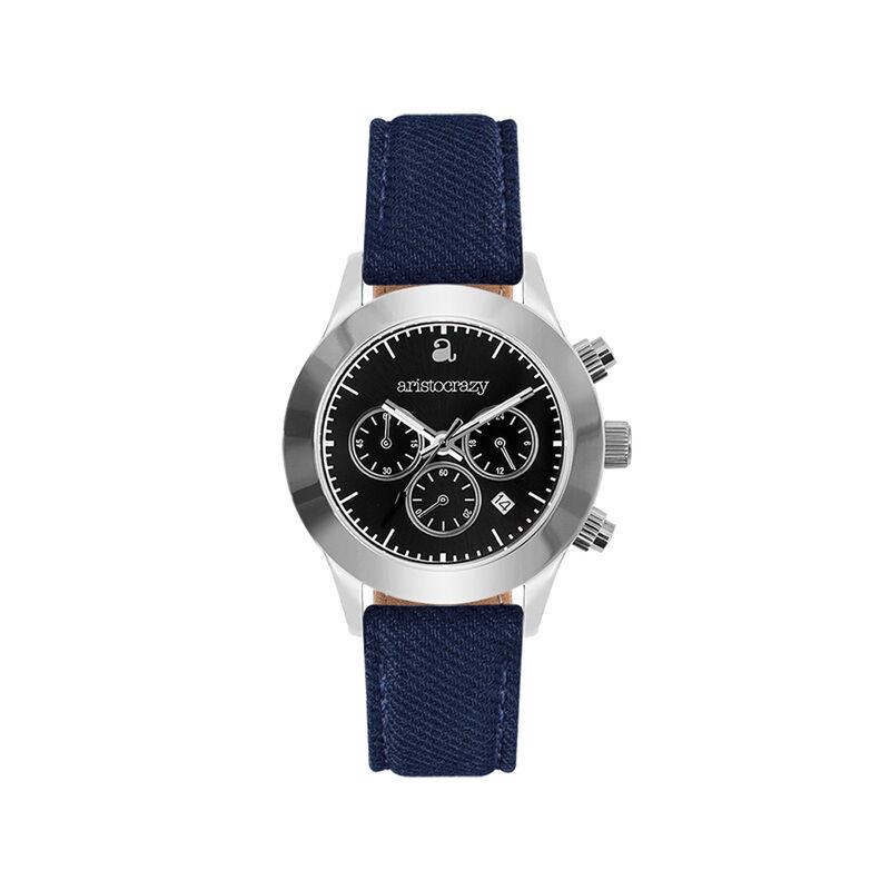 Reloj Soho azul esfera negra, W29A-STSTBL-FABU, hi-res