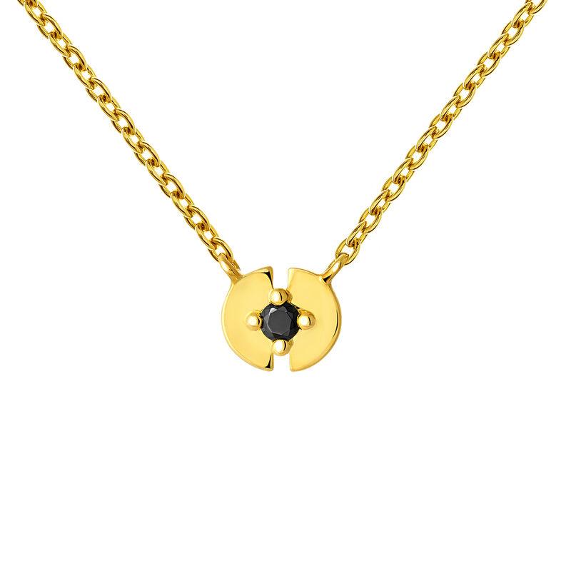 Colgante círculo completo espinela oro, J03746-02-BSN, hi-res