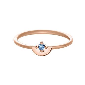 Rose gold topaz ring, J03742-03-LB, hi-res