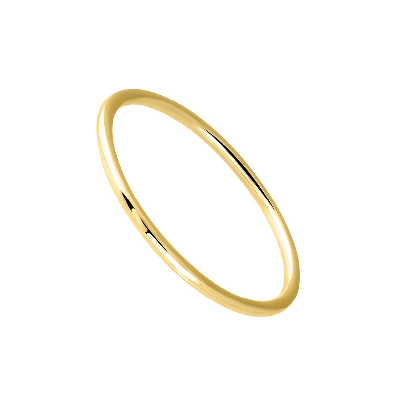 Simple gold ring, J03854-02, hi-res